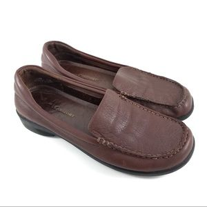 Vero Comfort Shoes Leather Slip On Casual Loafers